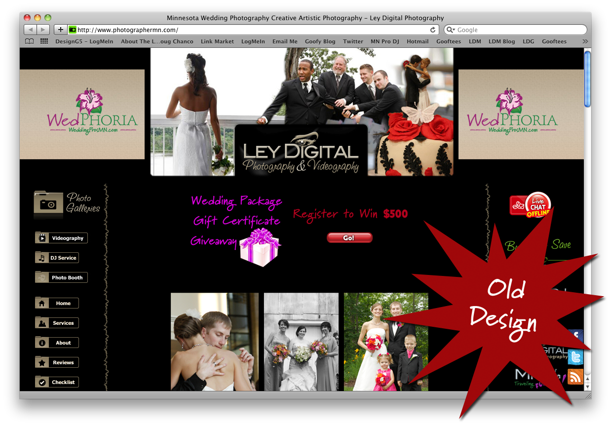 Mn Photography Web Design
