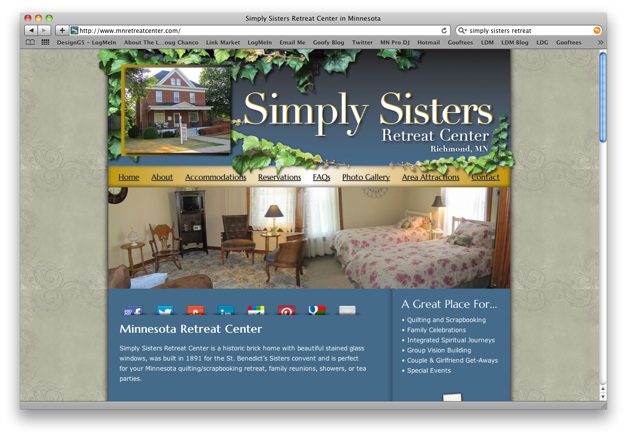 Simply Sisters Retreat Center